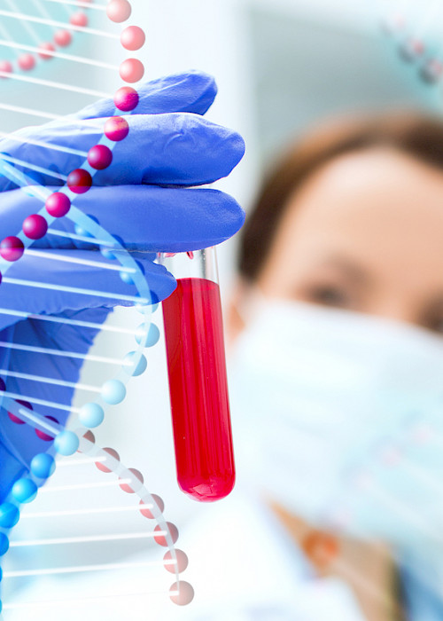 Gene test analysis